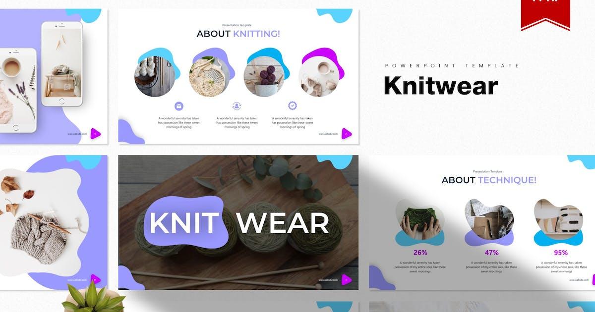 Download Knitwear | Powerpoint Template by Vunira