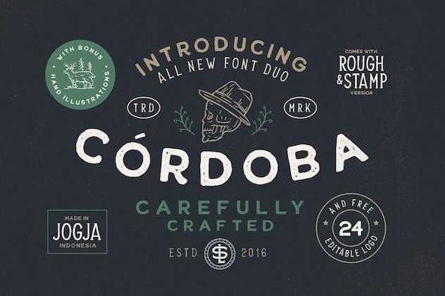 Cordoba - Font Duo (+EXTRA)