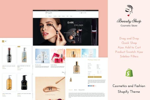 Beauty Store - Cosmetics , Fashion Shopify Theme
