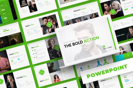 Bold Action - Powerpoint Template