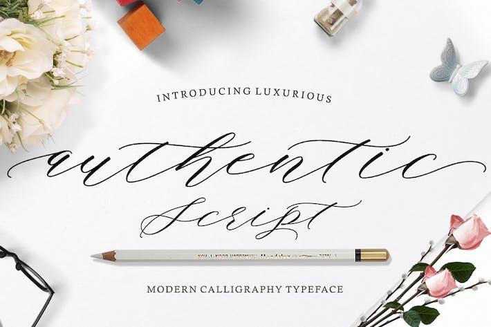 Thumbnail for Authentic Script
