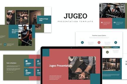 Jugeo : Gym & Fitness Powerpoint