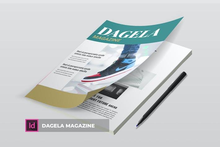 Thumbnail for Dagela | Magazine Template
