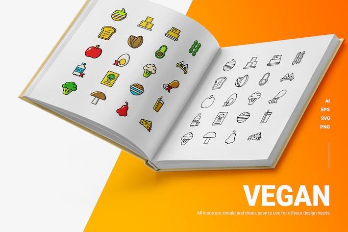 Vegan - Icons