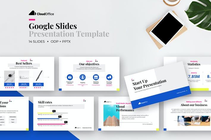 Thumbnail for Corporate Google Slides Presentation Template