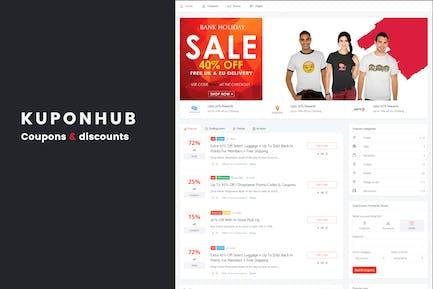 Kuponhub | Affiliate Gutscheine und Rabatte