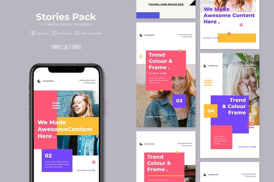 SRTP - Stories Pack. v6