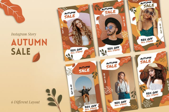 Thumbnail for IG Story Autumn Sale