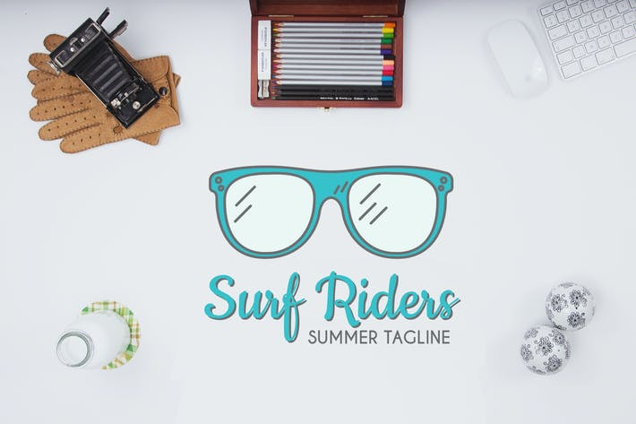 Thumbnail for Surf Riders Logo Template