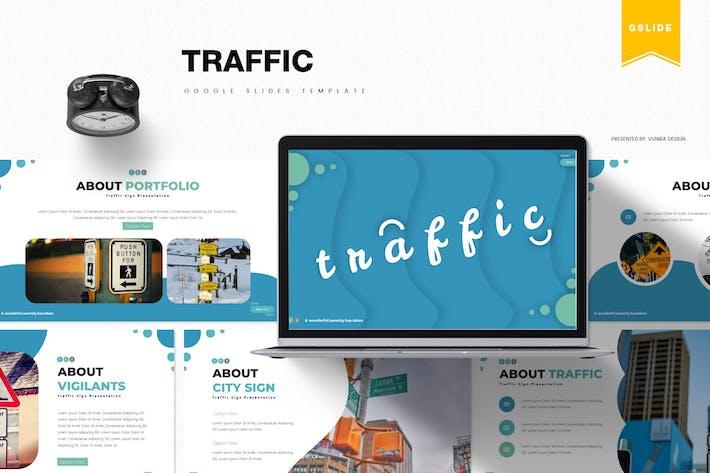 Thumbnail for Traffic | Google Slides Template