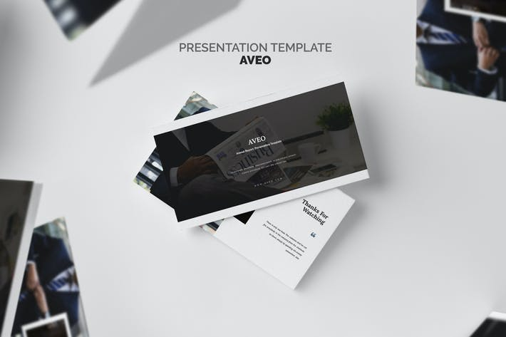 Thumbnail for Aveo : Sales & Marketing Report Keynote