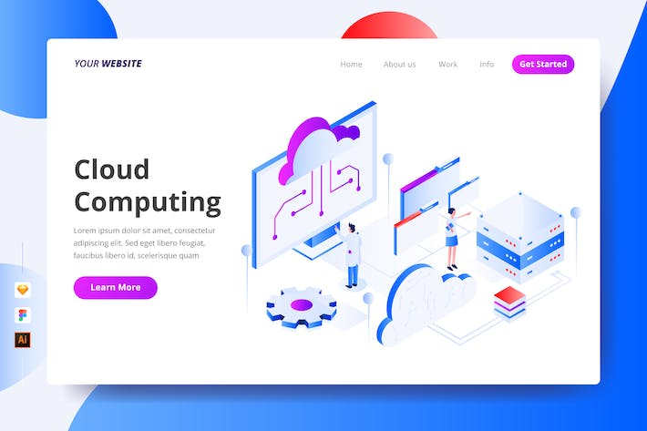Thumbnail for Cloud Computing - Landing Page
