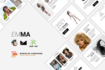 Emma - E-commerce Responsive Email Template