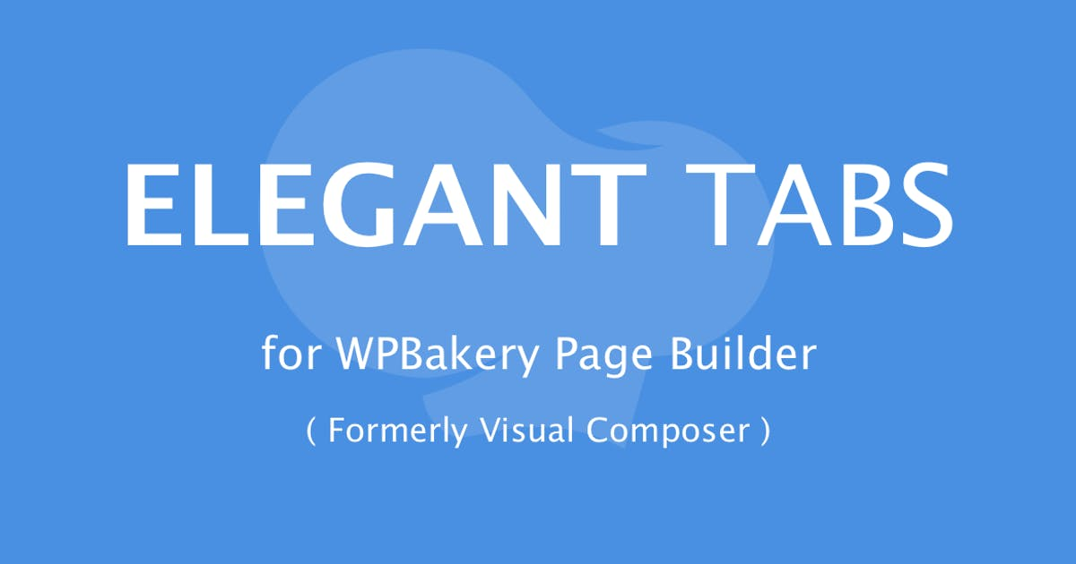 Download Elegant Tabs for WPBakery Page Builder by infiwebs