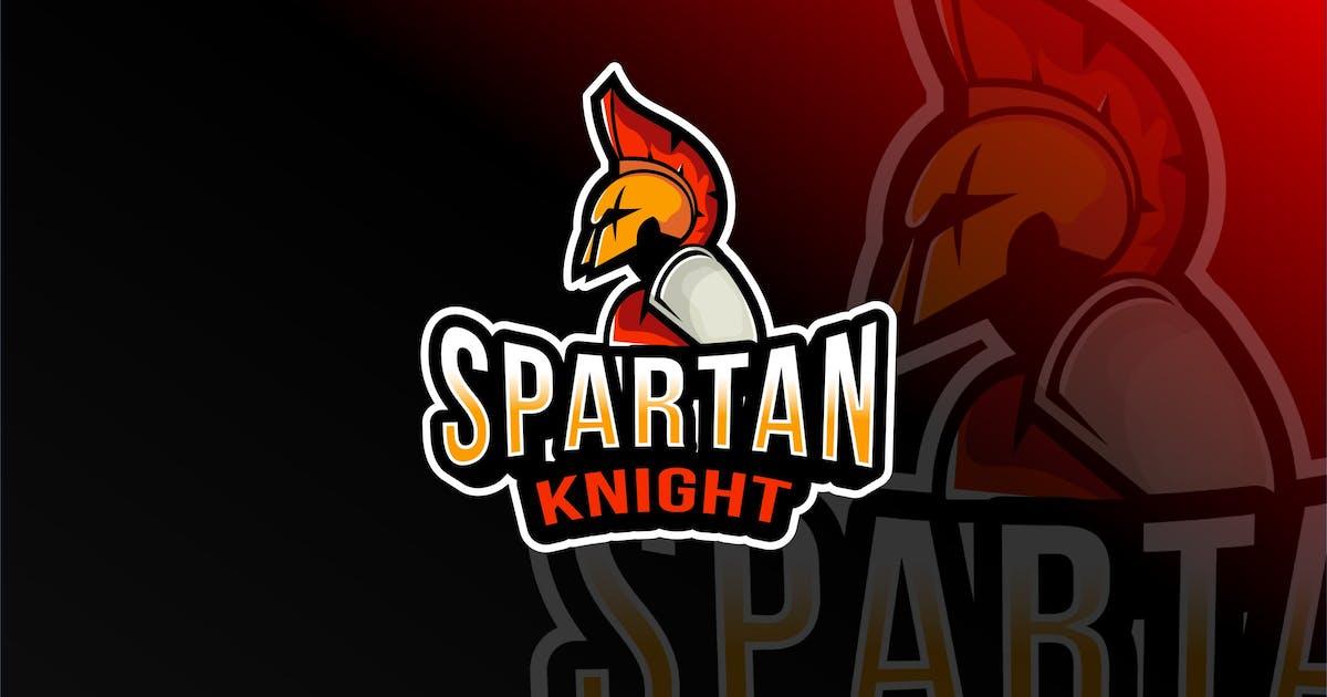 Download Spartan Knight Esport Logo Template by IanMikraz