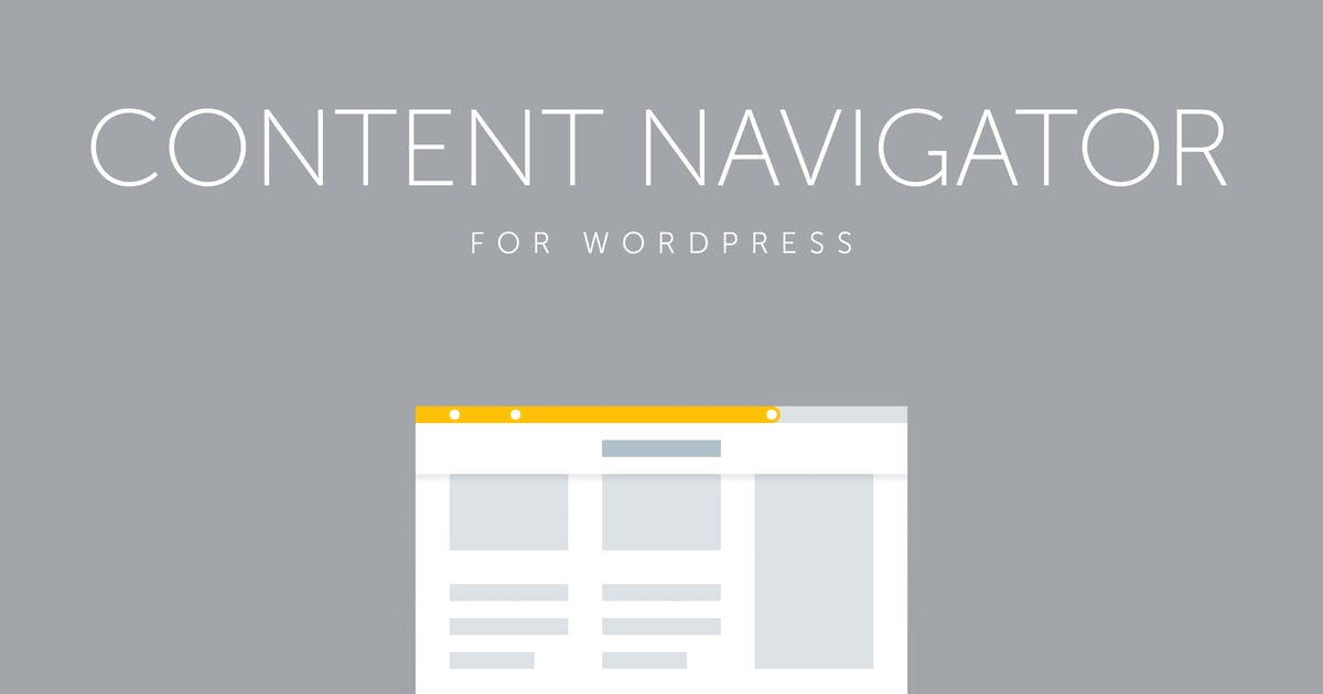 Download Site Content Navigator for WordPress by QuanticaLabs