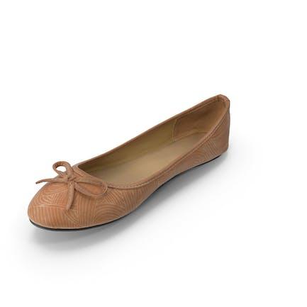 Женщины Повседневная Балерина Обувь