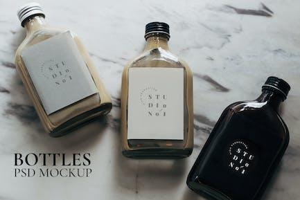 Cold Brew Coffee Label Mockup