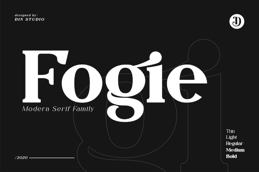 Fogie - Modern Serif Family 10 Fonts
