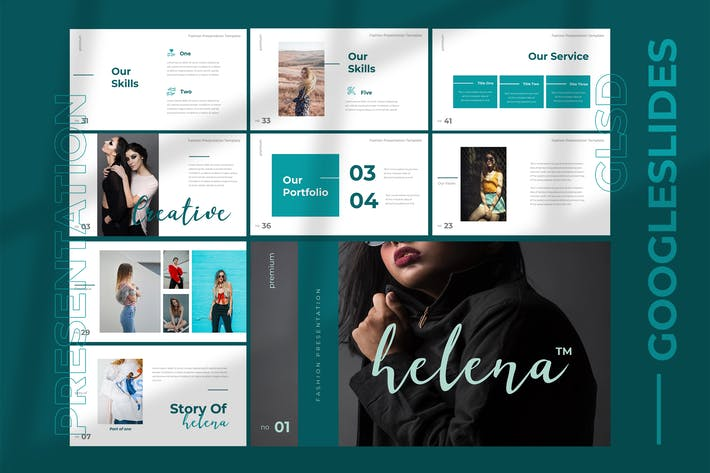 Thumbnail for Helena - Google Slides Presentation