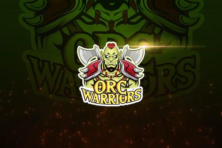 Thumbnail for Orc Warrior Esports Logo