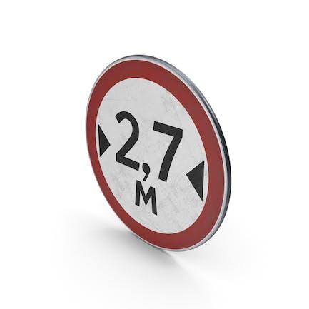 Traffic Sign Width Limit