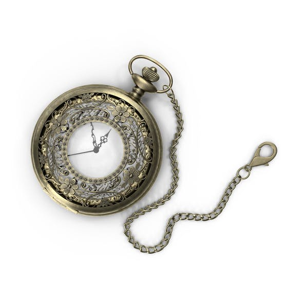 Thumbnail for Filigree Pocket Watch
