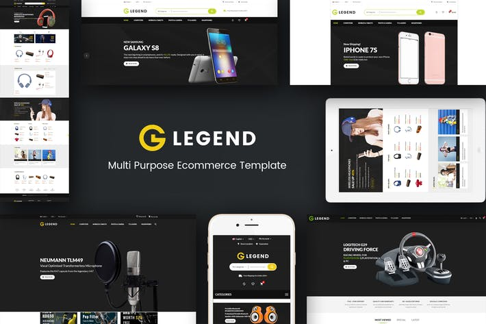 Thumbnail for Legend - Multipurpose Responsive Prestashop Thème