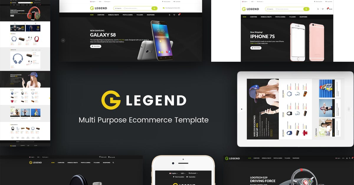 Legend - Multipurpose Responsive Prestashop Theme by Plaza-Themes