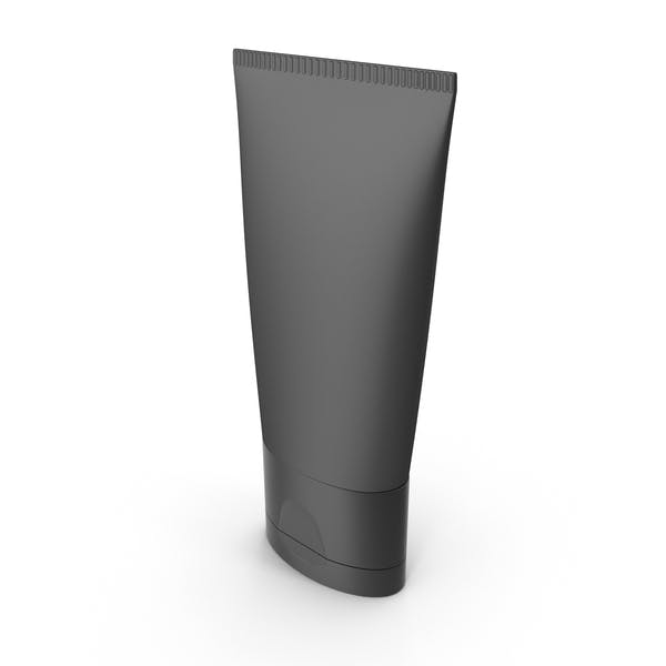 Black Cosmetic Tube
