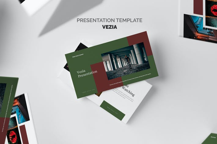 Thumbnail for Vezia : Hype Fashion Pitch Deck Powerpoint