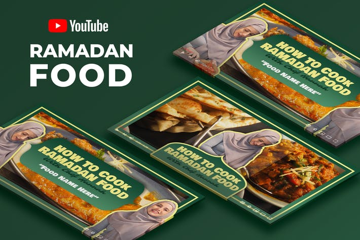Youtube Thumbnail - Food Video