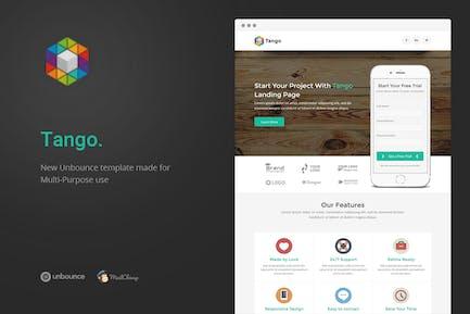 Tango - Multi-Purpose Unbounce Landing Page