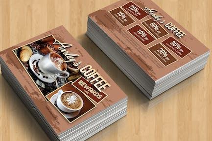 Coffee Shop Prämienkarte