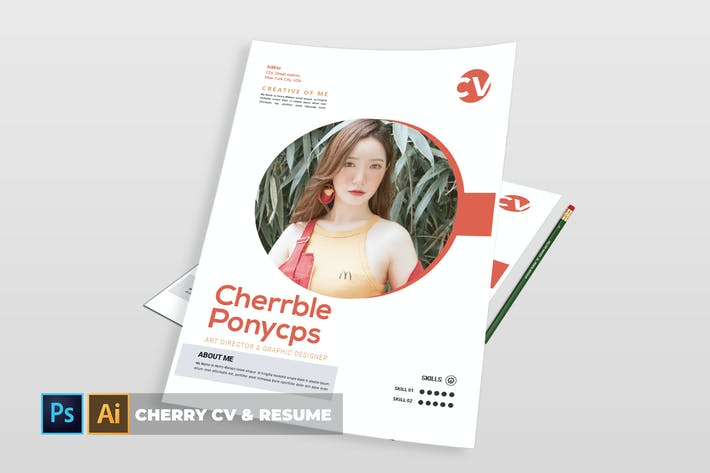 Thumbnail for Cherry | CV & Resume