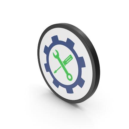 Icon Tools Green