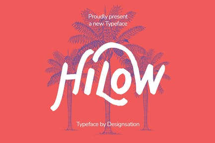 Hilow Display Typeface