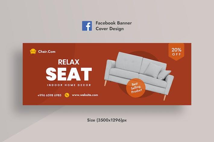 Social Media Banner For Furniture Sale's Banner