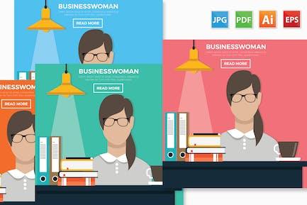 Businesswoman design