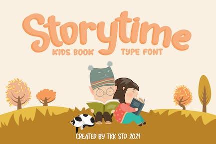 Storytime - Police de livre pour enfants