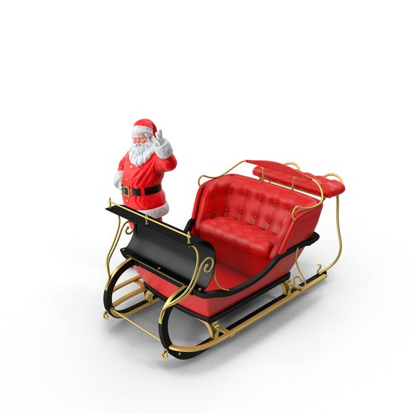 Thumbnail for Santa and Sleigh