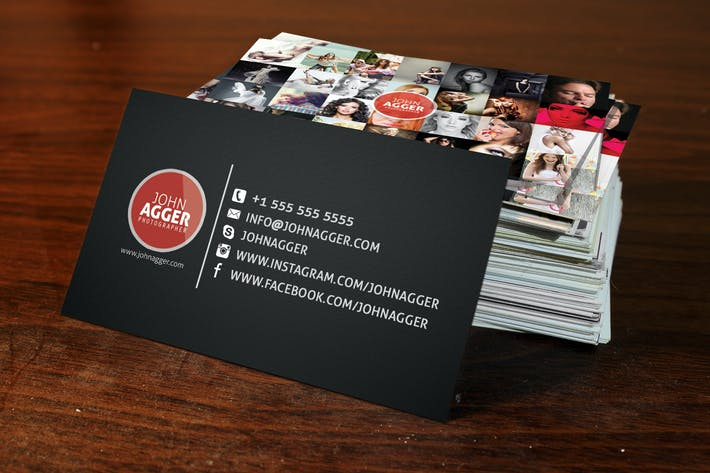 Thumbnail for 10 Realistic Business Card Mock Up