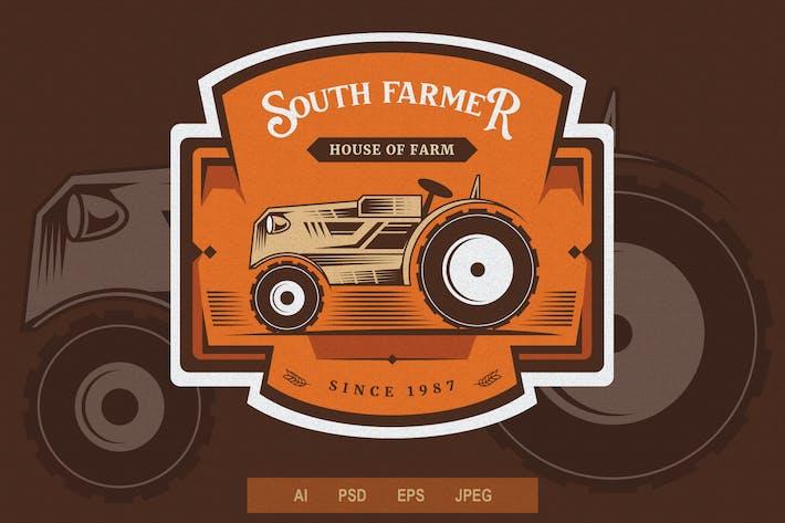 Thumbnail for Vintage Emblem - Farming V2