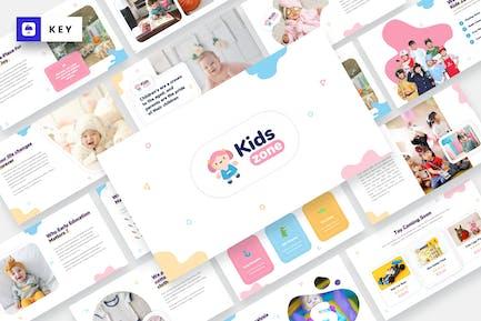 Kids Zone - Kids & Baby Keynote Template
