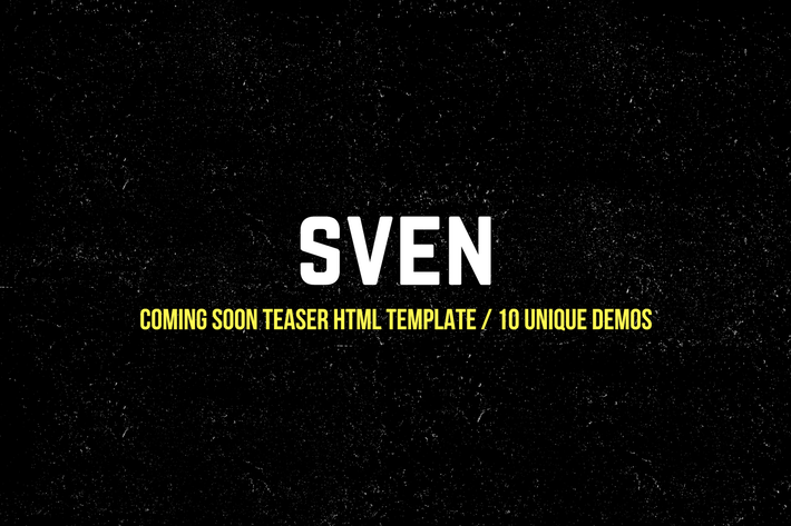 Thumbnail for Coming Soon Teaser HTML Template | 10 Unique Demos