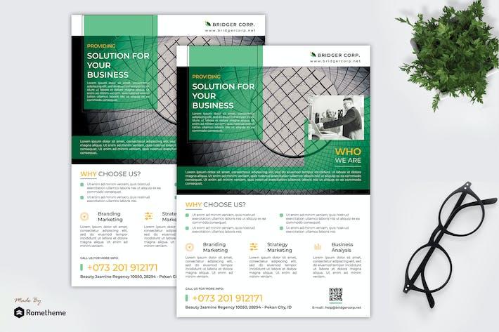 Thumbnail for Bridger - Corporate Business Flyer RY