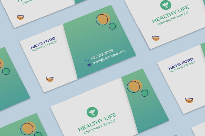 Thumbnail for medical Business card