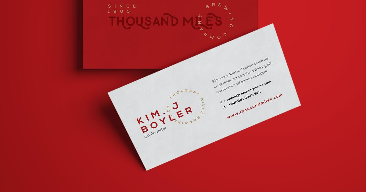 Download Business Card by micromove