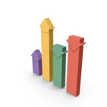 Gráfico de barras analíticas