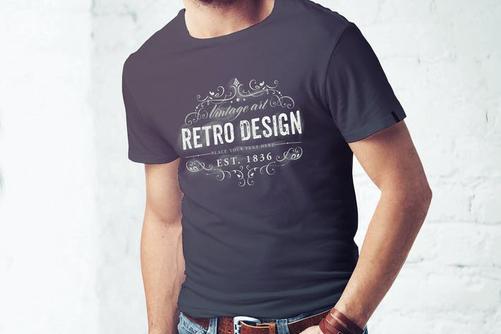 Thumbnail for Men T-Shirt Mock-up